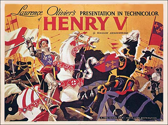 a comparison of the film adaptation of henry v by laurence olivier and kenneth branagh Laurence olivier's henry v launched the  kenneth branagh's henry v introduced elements of shakespeare  branagh's film came closer to conveying the.