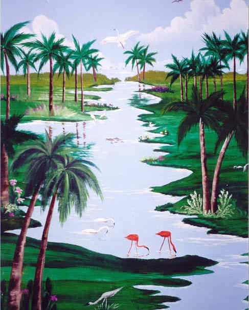 florida_flamingo_art_wall_murals_7.jpg